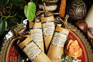 Frankincense Myrhh + Patchouli Hand-Dipped Incense