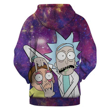 Load image into Gallery viewer, 3D Rick and Morty Printed Hoodie Sweatshirt