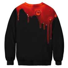 Load image into Gallery viewer, Halloween Digital Print Sweatshirts Plus Size Couple Long Sleeve Shirt