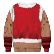 Load image into Gallery viewer, Sexy Ugly Christmas Sweater Long Sleeve Sweatshirt