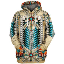 Load image into Gallery viewer, Big and Tall 3D Native American Indian Printed Pullover Hoodies Jacket Sweatshirt Coat