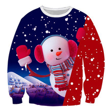 Load image into Gallery viewer, Christmas Print Unisex Long Sleeve Sweatshirt