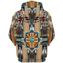 Load image into Gallery viewer, Big and Tall 3D Native American Indian Printed Zip Hoodies Jacket Sweatshirt Coat