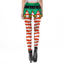 Load image into Gallery viewer, Women Christmas Xmas Leggings Funny Tights