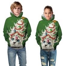 Load image into Gallery viewer, Christmas Children's Hooded Sweater Boys Long Sleeve Hoodies