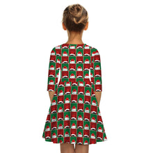 Load image into Gallery viewer, Christmas Children's Clothing Girls Dress