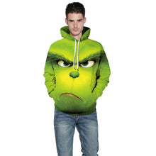 Load image into Gallery viewer, The Grinch 3D Pullover Hoodie Casual Hooded Sweatshirt Jacket Coat