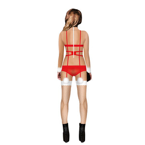Funny Ugly Christmas 3D Sexy Cosplay Print Tight Stretch Jumpsuit Pants Pajamas Onesies