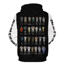 Load image into Gallery viewer, Funny Astronaut Space Suit Pullover Hoodie with Big Pockets Sweatshirt Jacket Coat