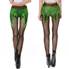 Load image into Gallery viewer, 3D St. Patrick's Day Funny St. Patrick Print Leggings