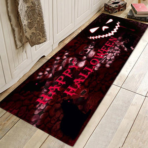 Halloween Skull Mat Doormat Rugs For Bathroom Living Room Kitchen