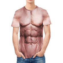Load image into Gallery viewer, Muscle Printed Casual Short Sleeve T-shirt