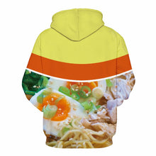 Load image into Gallery viewer, 3D Delicious Pasta Print Hoodie