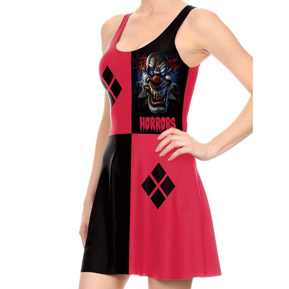 Halloween Halloween Stage Joker Cosplay Dress