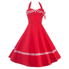 Load image into Gallery viewer, Vintage 1950s Rockabilly Audrey Dress Retro Cocktail Dress