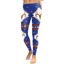 Load image into Gallery viewer, Christmas Elk Digital Print Leggings