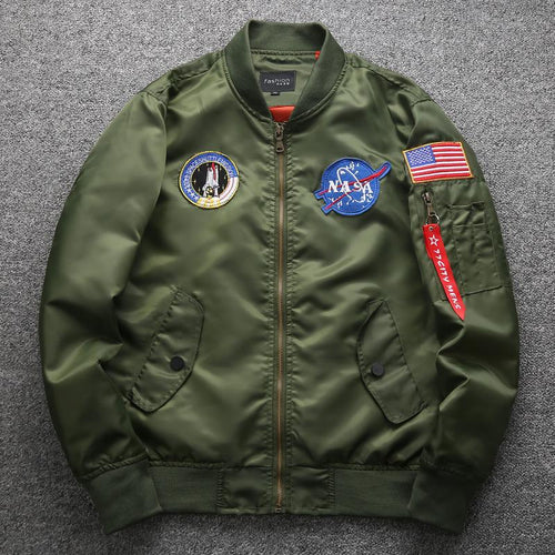 Men's Lightweight Flight Bomber Plus Size Jacket Windbreaker