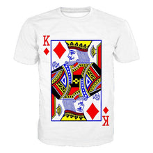 Load image into Gallery viewer, Poker K Printed Short Sleeve Men's T-Shirt