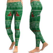 Load image into Gallery viewer, Women's Christmas Print Tights Leggings