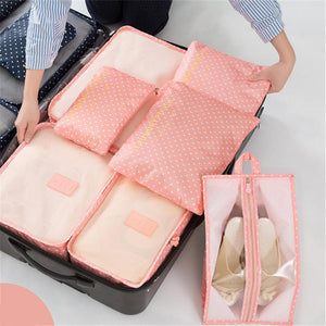 Storage Bags-7 Pieces Storage Bag for Cloth Packing Travel Bag