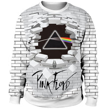 Load image into Gallery viewer, 3D Pink Floyd The Dark Side Of The Moon The Wall Print Pullover Hoodie Sweatshirt Jacket
