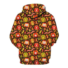 Load image into Gallery viewer, Christmas Printed Loose Xmas Hooded Sweatshirt