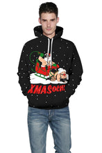 Load image into Gallery viewer, Ugly Christmas Printed Hooded Xmas Sweatshirt