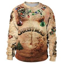 Load image into Gallery viewer, Funny Printed Ugly Christmas Sweater Sweatshirt