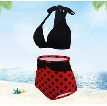 Load image into Gallery viewer, Open Back Sexy Bikini Large Waist Strap Swimsuit