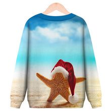 Load image into Gallery viewer, Christmas Fun Printed Round Neck Pullover Sweatshirt