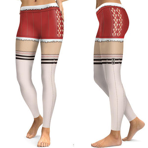 Print Elastic Tight-fitting Sports Yoga Pants Leggings