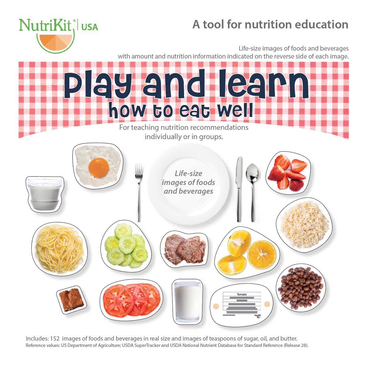 NutriKit Play and learn how to eat well