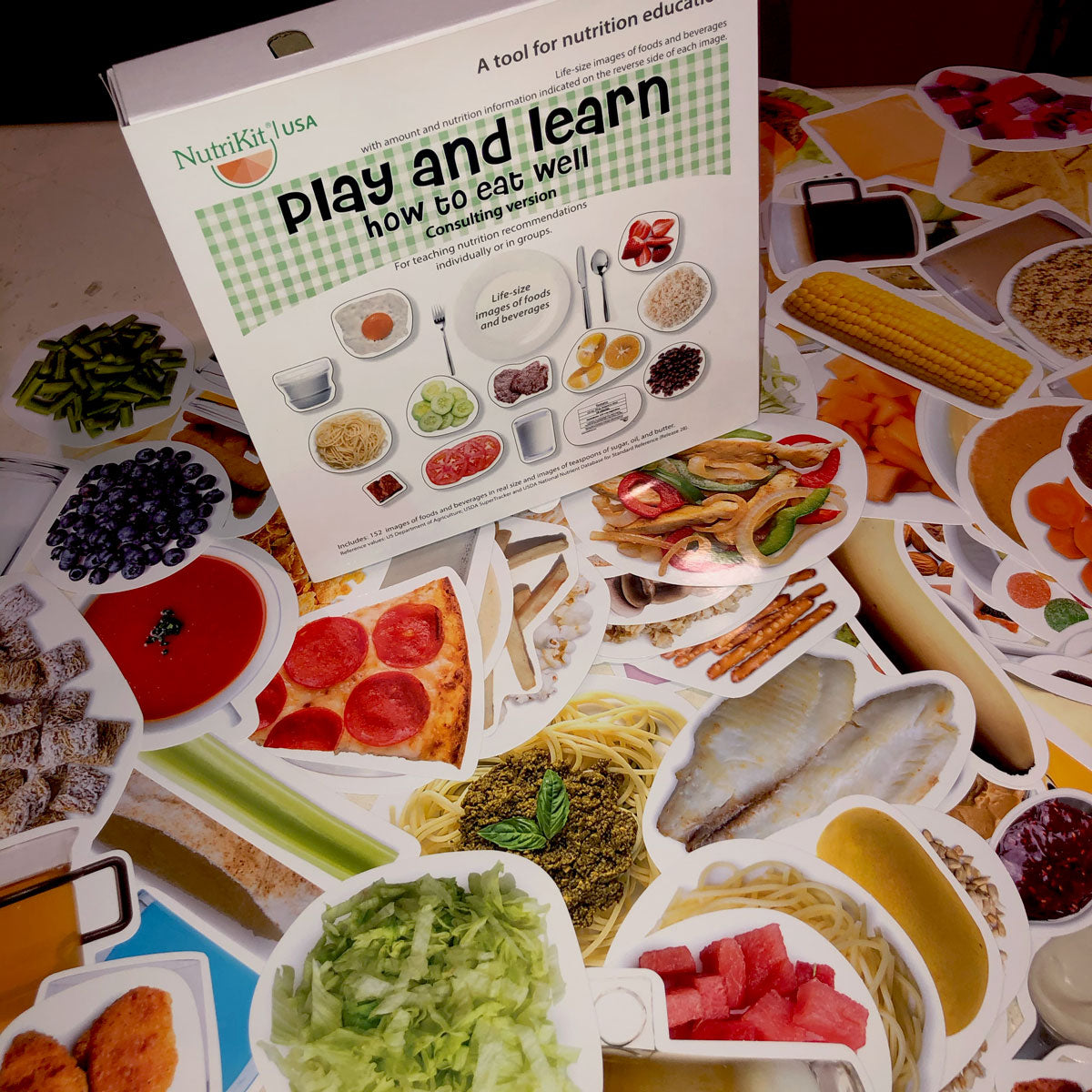 NutriKit Play and learn how to eat well -Consulting version– - NutriKit Réplicas de alimentos