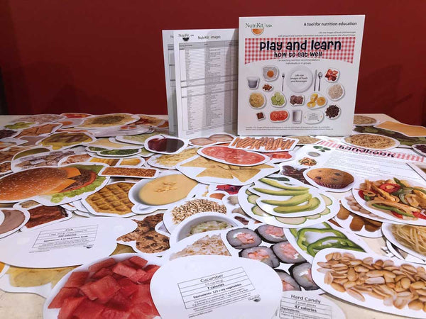 NutriKit Play and learn how to eat well - NutriKit Réplicas de alimentos