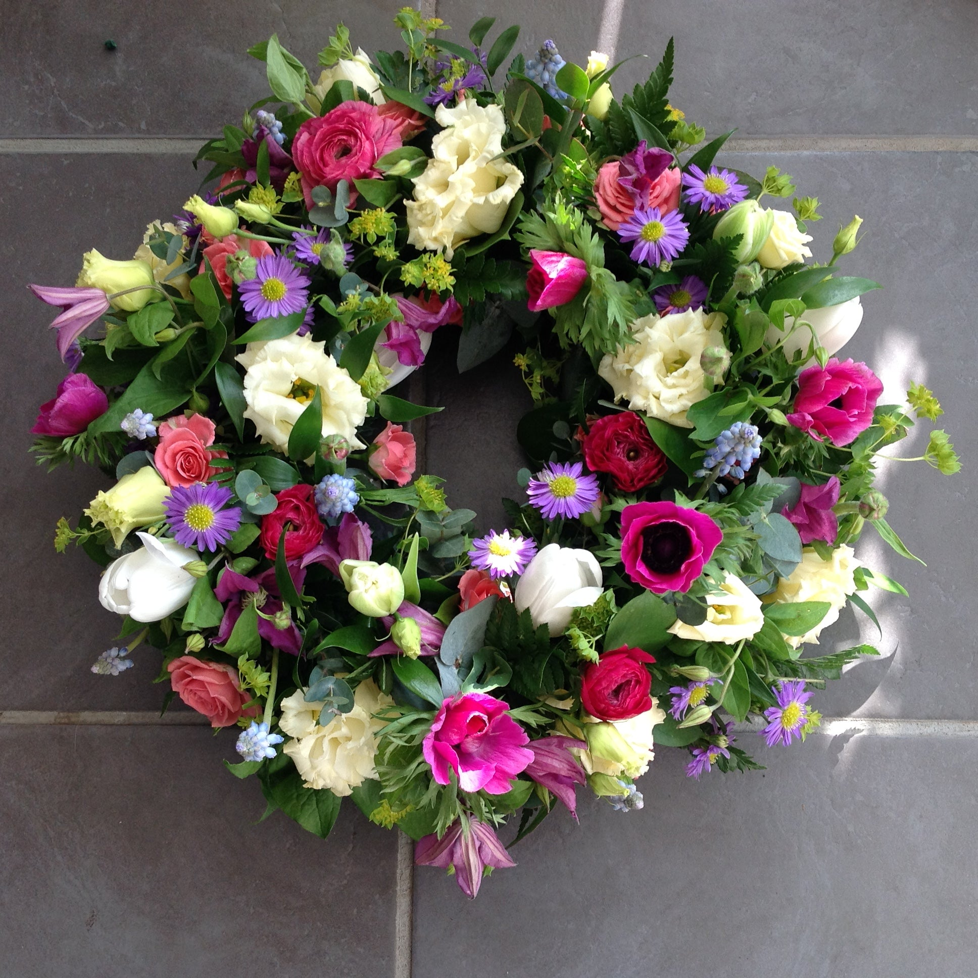 Leave it to us Wreath