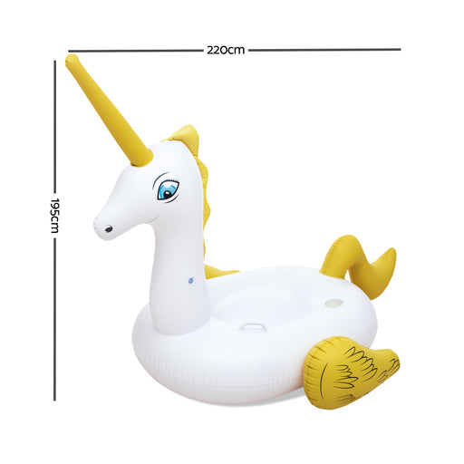 Bestway™ Inflatable Ride-On Pool Float Unicorn | FREE DELIVERY