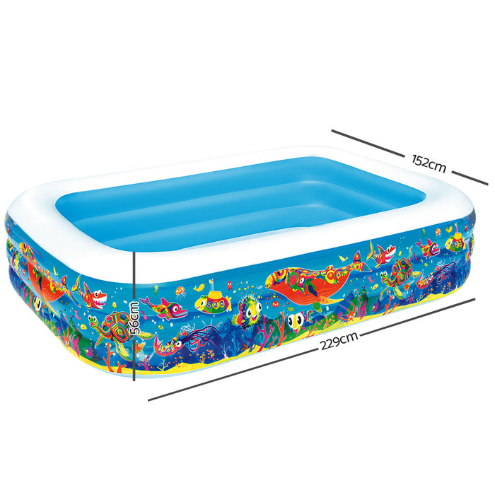 Bestway™ Inflatable Kids Above Ground Swimming Pool | FREE DELIVERY