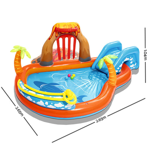 Bestway™ Lava Lagoon Inflatable Play Centre | FREE DELIVERY