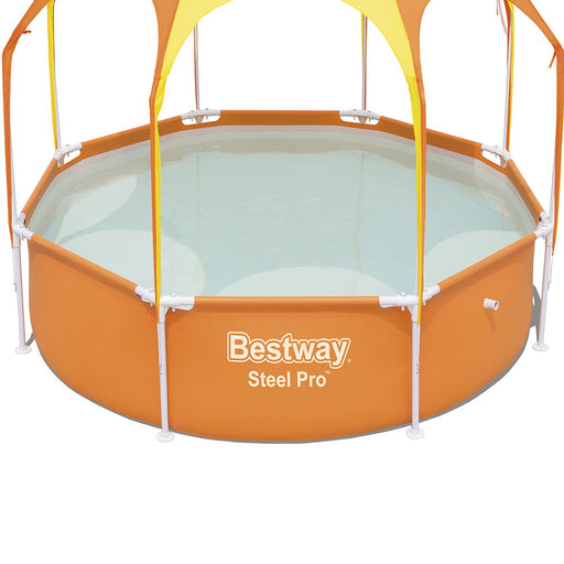 Bestway™ Above Ground Swimming Pool with Mist Shade | FREE DELIVERY