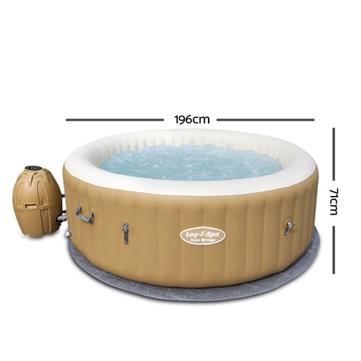 Bestway™ 4-6 Adult Inflatable Spa - Sand | FREE DELIVERY