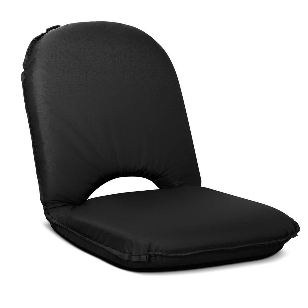 Foldable Beach or Pool Picnic Seat - Black | FREE DELIVERY