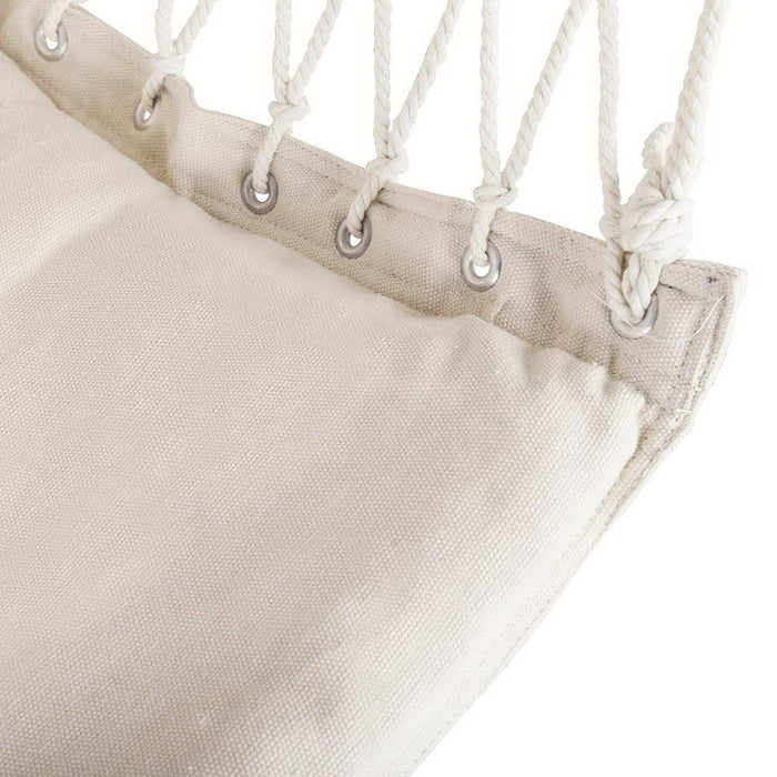 Hanging Hammock Swing Chair - Cream | FREE DELIVERY