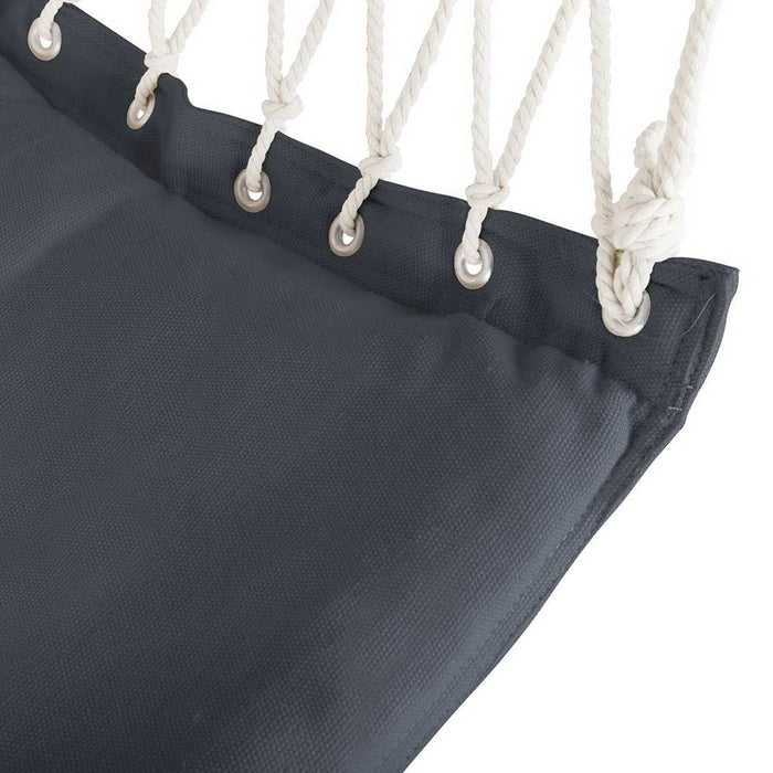 Hanging Hammock Swing Chair - Grey | FREE DELIVERY