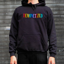 Load image into Gallery viewer, DEMONETIZED Embroidered Hoodie