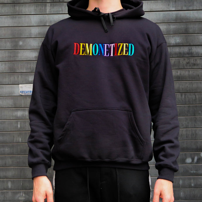 DEMONETIZED Embroidered Hoodie