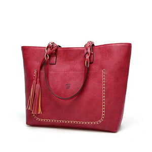 Sac Biggy Rouge - Elisa.Paris
