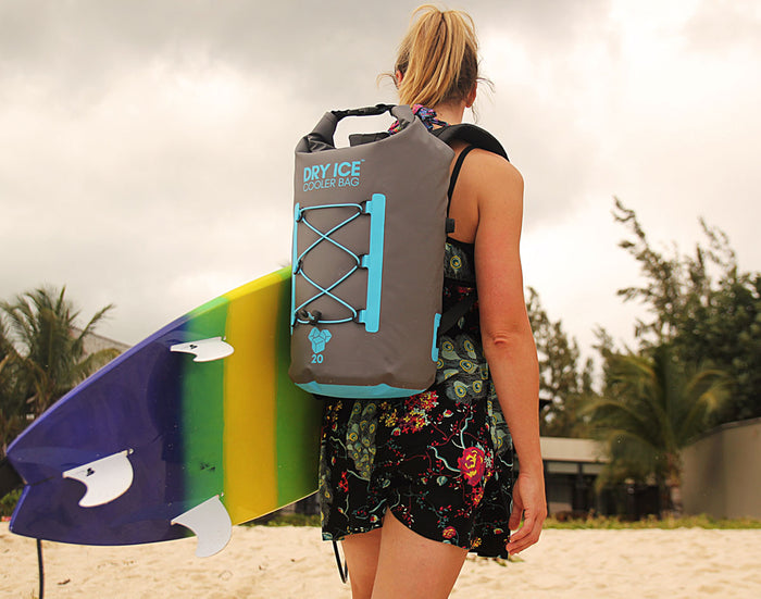 Waterproof Dry Ice™ Cooler Backpack - 20 Litres