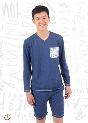 PJ Amazing Manga Larga / Amazing PJ Long Sleeve
