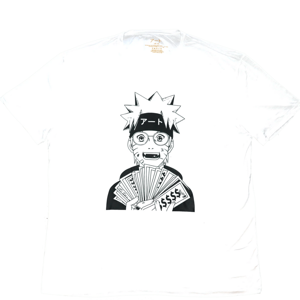 Naruto T-Shirt | Cash Money - ATO Anime Clothing