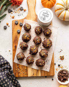 Devilishly Healthy: Cannabis-Infused Vegan Pumpkin Cookie Dough Truffles